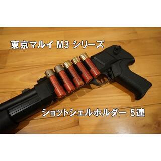 東京マルイ M3 ショットシェルホルダー 5連 CYMA ショットガン ベルクロ(カスタムパーツ)