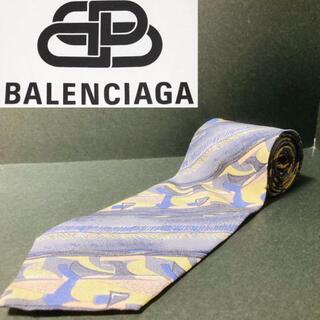 Balenciaga - 【美品】 BALENCIAGA/バレンシアガ ネクタイ 総柄