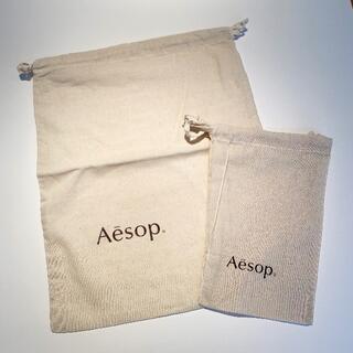 イソップ(Aesop)のAesop 巾着 2種(ショップ袋)