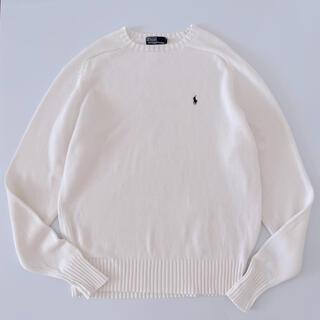 ラルフローレン(Ralph Lauren)のRalph Lauren ラルフローレン コットンニット セーター 大きいサイズ(ニット/セーター)
