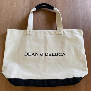 DEAN & DELUCA - 正規品 ディーン&デルーカ ブラック&ナチュラル キャンバストートバッグ
