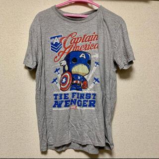 マーベル(MARVEL)のFunko POP! Marvel マーベル キャプテンアメリカコラボTシャツ (Tシャツ/カットソー(半袖/袖なし))