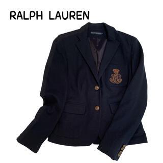 ポロラルフローレン(POLO RALPH LAUREN)のポロラルフローレン 紺ブレ ワッペン付 金ボタン(テーラードジャケット)