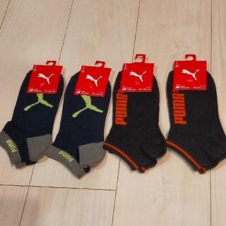 プーマ(PUMA)のプーマ 子供靴下 スニーカーソックス 4足セット(靴下/タイツ)