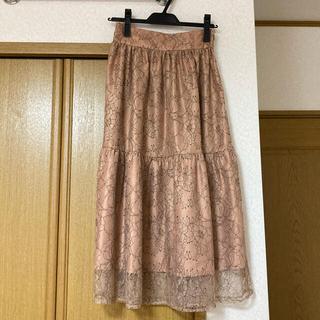 ミッシュマッシュ(MISCH MASCH)のMISCH MASCH レースマーメイドスカート 新品タグ付き(ロングスカート)