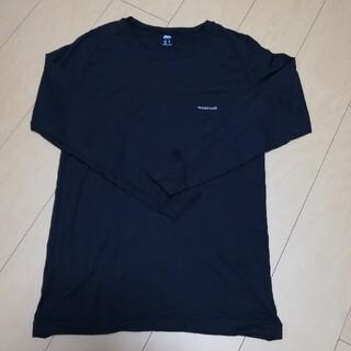 モンベル(mont bell)のモンベルジオラインブラックm〜L(Tシャツ/カットソー(七分/長袖))