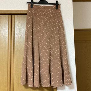 ミッシュマッシュ(MISCH MASCH)のMISCH MASCH ドットマーメイドスカート 新品タグ付き(ロングスカート)