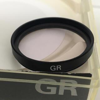 リコー(RICOH)の RICOH GR 純正φ30.5 レンズフィルター MC1B スカイライト美品(フィルムカメラ)
