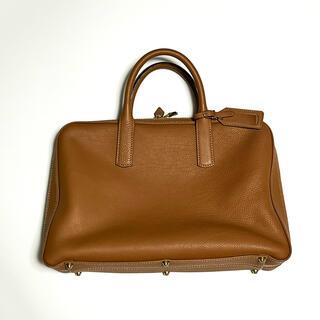 GANZO - 大峡製鞄 スリムオーバーナイト レザーブリーフケース カーフ