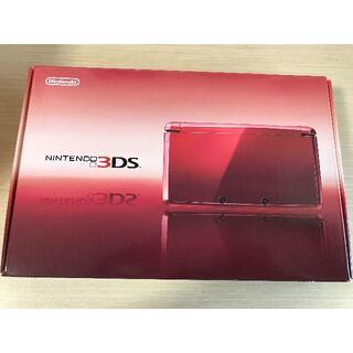 ニンテンドー3DS - ニンテンドー3DS本体(フレアレッド)