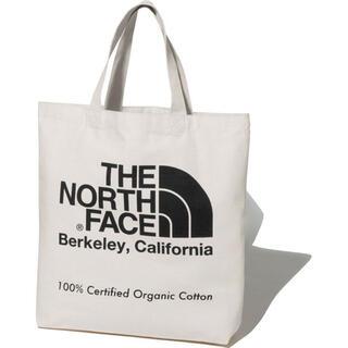 ザノースフェイス(THE NORTH FACE)の【新品未使用】THE NORTH FACE オーガニックコットントート ブラック(トートバッグ)