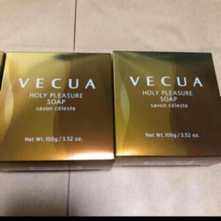 VECUA - 新品未使用 【2個セット】VECUA(ベキュア)ホーリープレジャーソープ