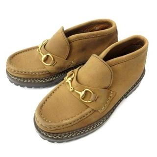 Gucci - グッチ GUCCI 子供靴 ビットローファー 茶 13M 約19~19.5cm
