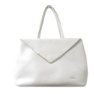 Furla - フルラ FURLA 白 トートバッグ レザー ロゴ ホワイト IBO15 X
