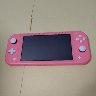 Nintendo Switch - Nintendo Switch Lite 本体のみ コーラル ピンク スイッチラ