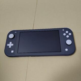 Nintendo Switch - Nintendo Switch Lite 本体のみ グレー スイッチライト