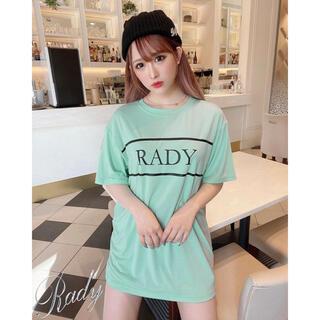 レディー(Rady)のRady ♡ ラインロゴTシャツ(Tシャツ(半袖/袖なし))