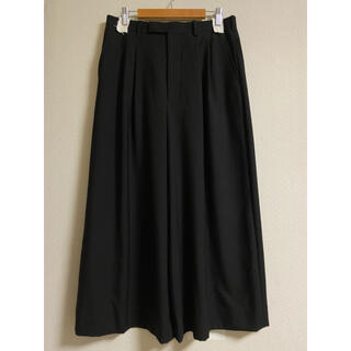LAD MUSICIAN - LAD MUSICIAN 2 tuck wide cropped pants