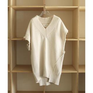 トゥデイフル(TODAYFUL)のTODAYFUL_Damage Knit Vest(ニット/セーター)