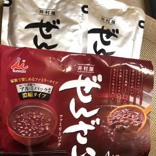 イムラヤ(井村屋)の井村屋 ぜんざいファミリーパック 200gx2(菓子/デザート)