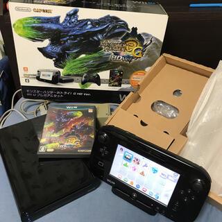 ウィーユー(Wii U)のwii u プレミアムセット 本体 モンスターハンター3 (トライ) 32g(家庭用ゲーム機本体)