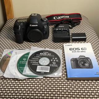 Canon - Canon キヤノンEOS 6Dフルサイズボディ  美品