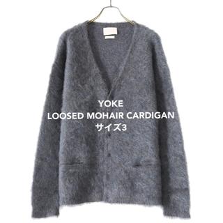 ワンエルディーケーセレクト(1LDK SELECT)のYOKE LOOSED MOHAIR CARDIGAN 3(カーディガン)