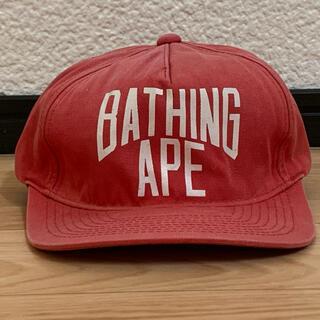 アベイシングエイプ(A BATHING APE)の★大人気★ APE ニューヨーク ロゴ スナップバック キャップ シャーク(キャップ)