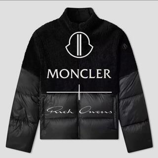 MONCLER - 値下げ!MONCLER + RICK OWENS ダウンジャケット