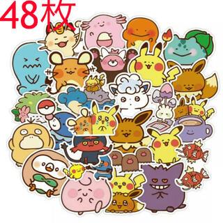 ポケモン - 【☆新品☆】ポケモン カナヘイ シール 48枚 大きめステッカー