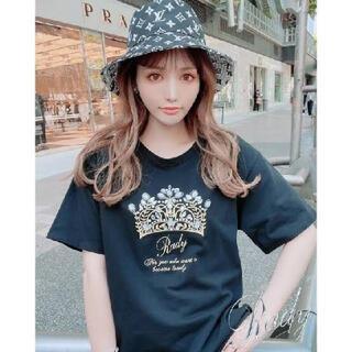 レディー(Rady)のビジュークラウンTシャツ(Tシャツ(半袖/袖なし))