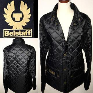 ベルスタッフ(BELSTAFF)の新品Belstaff送料込ベルスタッフ定価5万円程キルティング中綿ジャケット正規(ライダースジャケット)