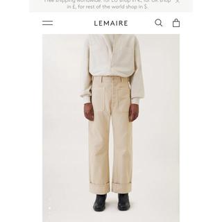 ルメール(LEMAIRE)の21AW LEMAIRE SAILOR PANTS 46(デニム/ジーンズ)