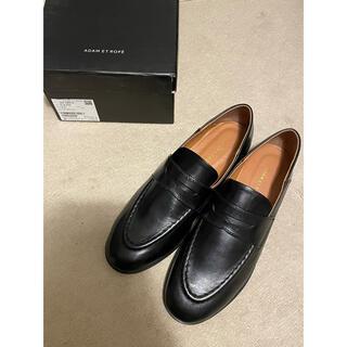 アダムエロぺ(Adam et Rope')の新品未使用アダムエロペ ボロネーゼローファーブラック37(23.5)(ローファー/革靴)