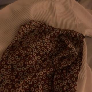 ロキエ(Lochie)の花柄 ラップスカート(ロングスカート)