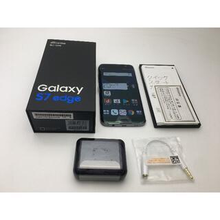 サムスン(SAMSUNG)のSIMフリー docomo Galaxy S7 edge SC-02H黒新品(スマートフォン本体)