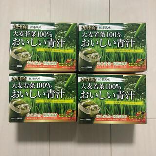 おいしい青汁 抹茶風味 大麦若葉100% 4箱