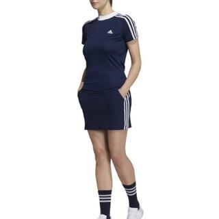 adidas - ADDIDASGOLFアディダス2021年SSインナー付きスカート ブラック