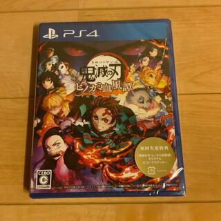 プレイステーション4(PlayStation4)の鬼滅の刃 ヒノカミ血風譚 PS4(家庭用ゲームソフト)