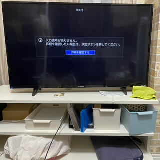 テレビ&テレビ台(ケーブルが断線)