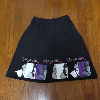 ディズニー(Disney)のDisney villains スカート Lサイズ(ひざ丈スカート)
