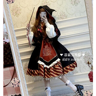 学園風森ガール姫中世紀宮殿風貴族風豪華ドレスセットⓂ️(衣装一式)