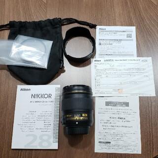 Nikon - ニコンレンズ AF-S NIKKOR 28mm f/1.8G(フィルタ付き)