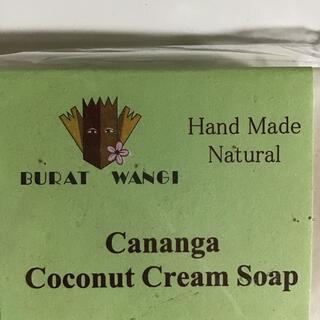 cananga coconut cream soap(ボディソープ/石鹸)
