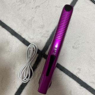 コードレスヘアアイロン USB充電式 ストレート カール 携帯用 ポータブル(ヘアアイロン)