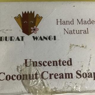 coconut cream soap(ボディソープ/石鹸)