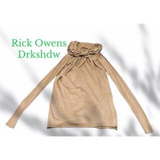 リックオウエンス(Rick Owens)のRick Owens Drkshdw ドレープトップス リックオゥエンス(ニット/セーター)