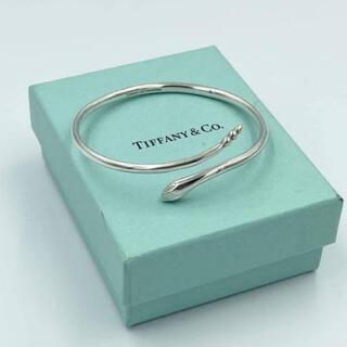 ティファニー(Tiffany & Co.)のティファニ TIFFANY スネーク シルバー925 バングル(バングル/リストバンド)