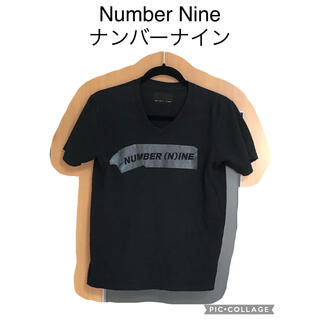 ナンバーナイン(NUMBER (N)INE)のNumber Nine ナンバーナイン Tシャツ ブラック 黒 S 古着(Tシャツ/カットソー(半袖/袖なし))