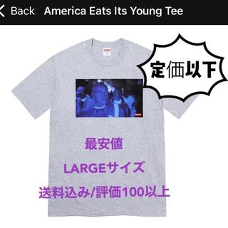 シュプリーム(Supreme)の【定価以下】Supreme America Eats Its Young Tee(Tシャツ/カットソー(半袖/袖なし))